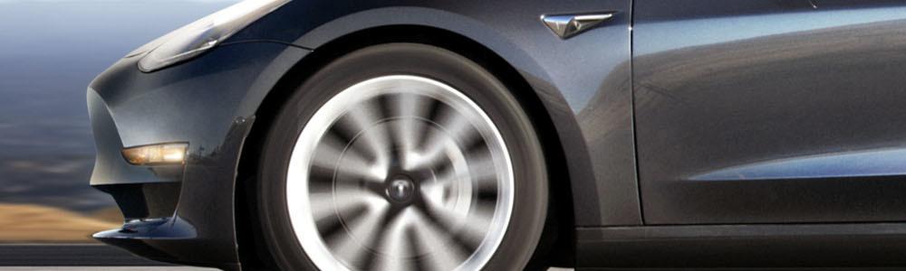 Dark Tesla Model 3