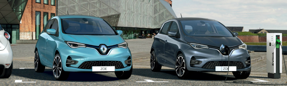 Renault ZOE's