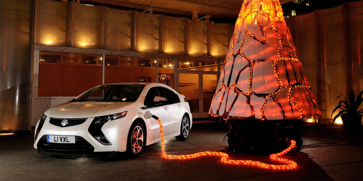 Electric Cars at Christmas