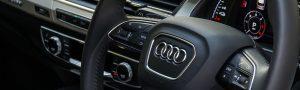 Audi-e-tron steering wheel