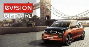 BMW i3 Gift Voucher