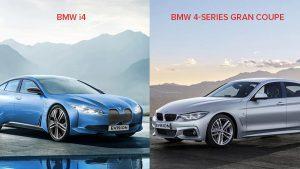 BMW i4 vs BMW 4-series Gran Coupe