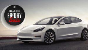 Black Friday Tesla Model 3 Gift Voucher Offer
