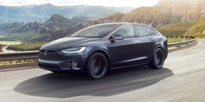 Black Tesla Model X