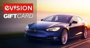 Blue Tesla Gift Voucher