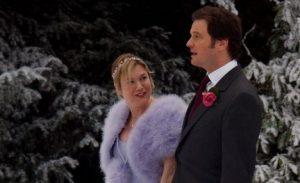 Bridget Jones Winter Wedding Scene