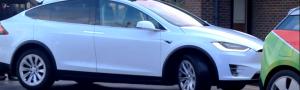 EVision Masterclass Event - White Tesla Model X