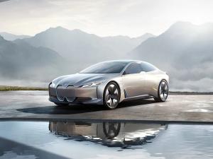 Grey BMW i4 - Electric Cars