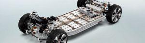 Lithium-Ion Batteries - electric cars - skateboard platform
