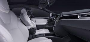 Tesla Model S P100D Interior