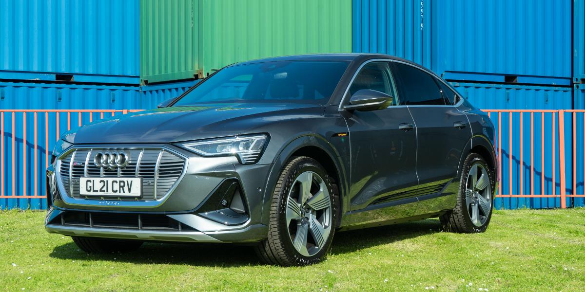 Audi e-tron at EVision