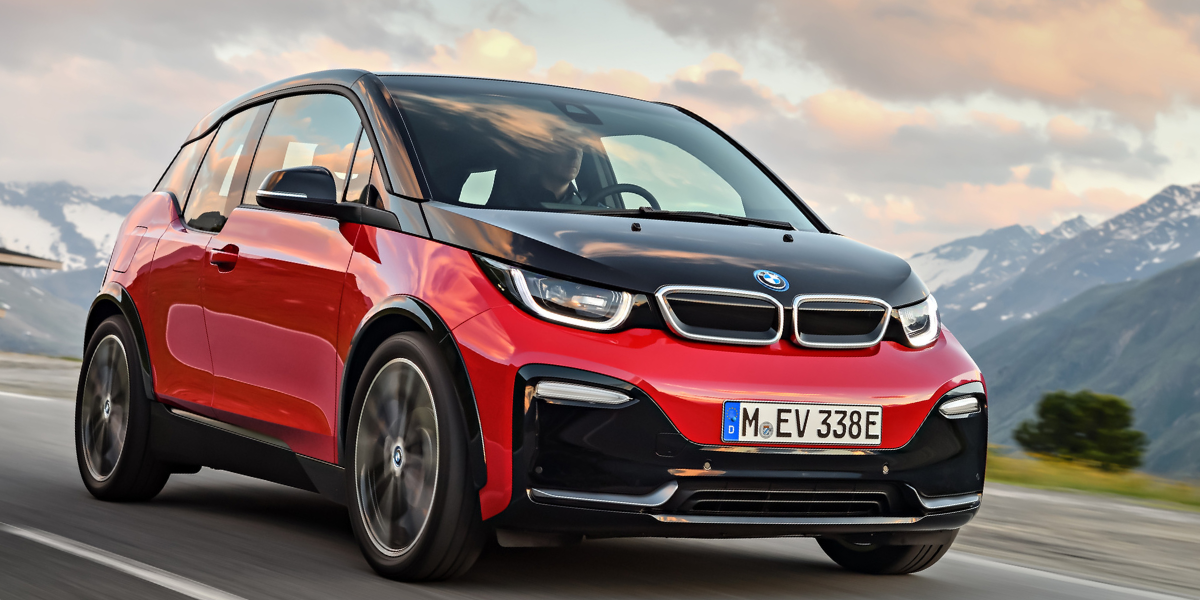 BMW i3 in red