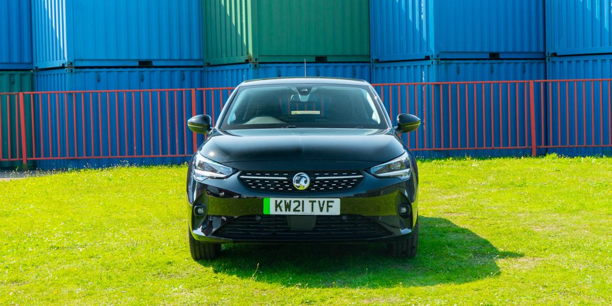 Vauxhall Corsa-e in black