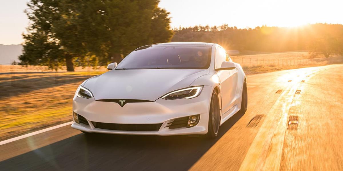 Tesla Model S at EVision