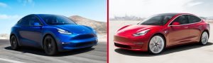 Tesla Model 3 vs Tesla Model Y