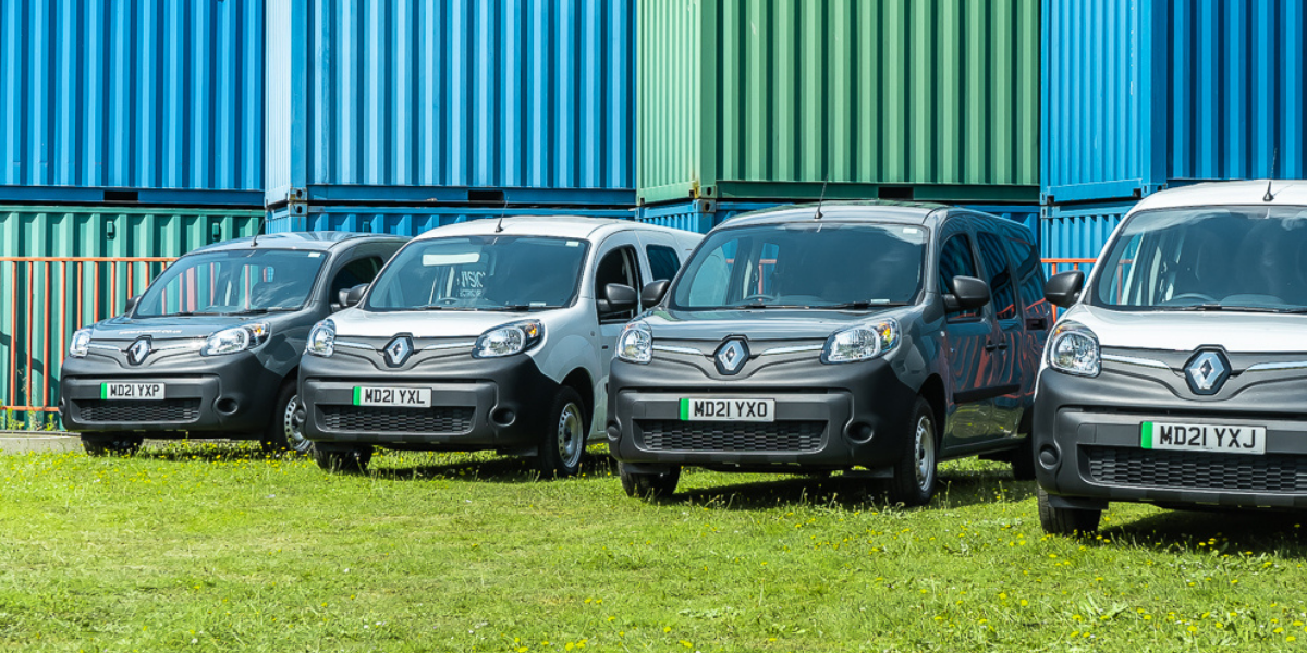 Hire an electric van at EVision