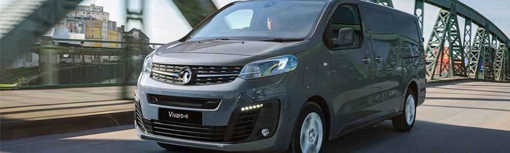 Electric vans - Vauxhall Vivaro-e