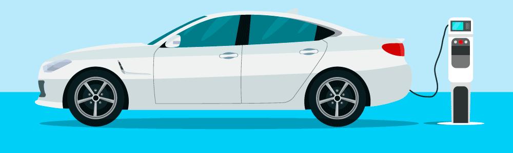 Rent an electric car