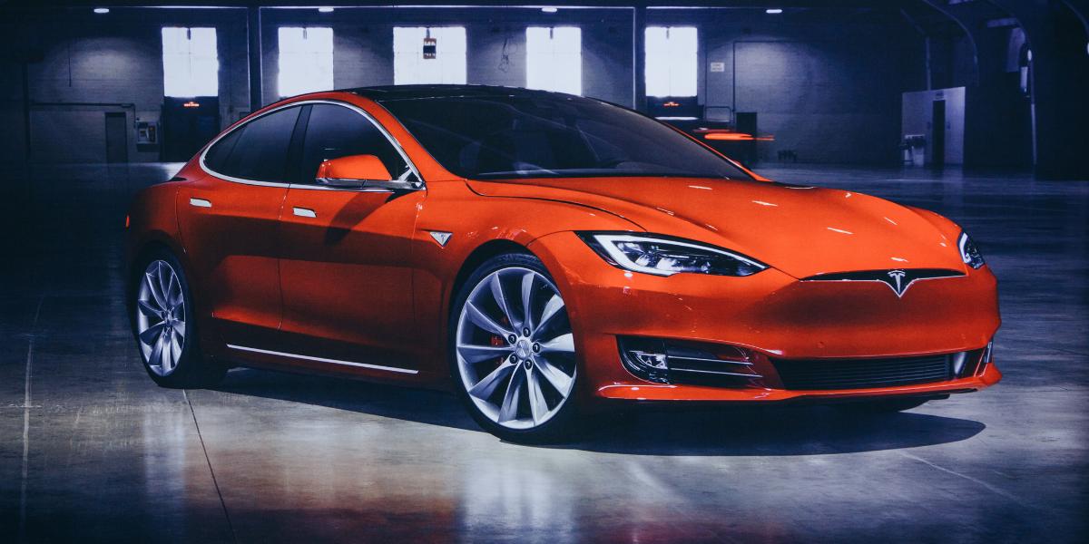 Teslas at EVision