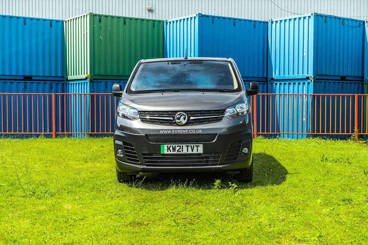 Vauxhall Vivaro E Van Front