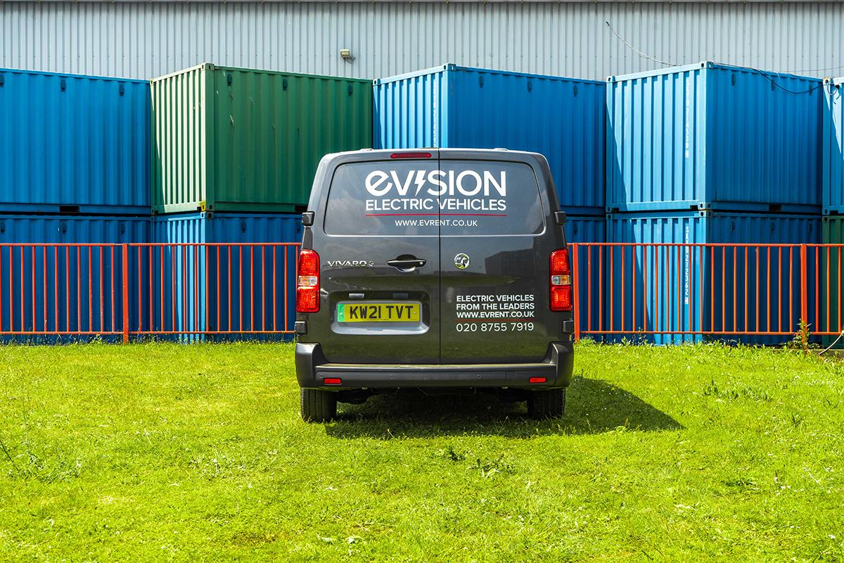 Vauxhall Vivaro E Van Back