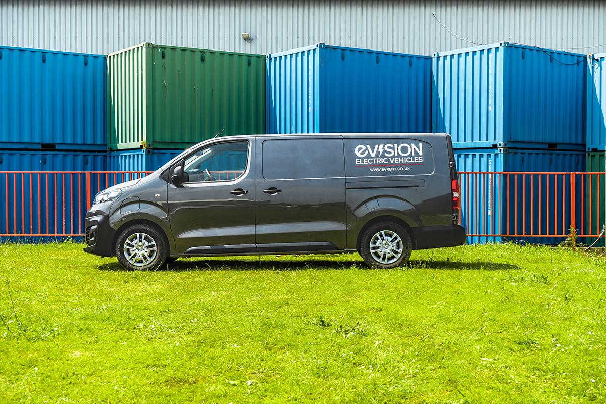 Vauxhall Vivaro E Van Side