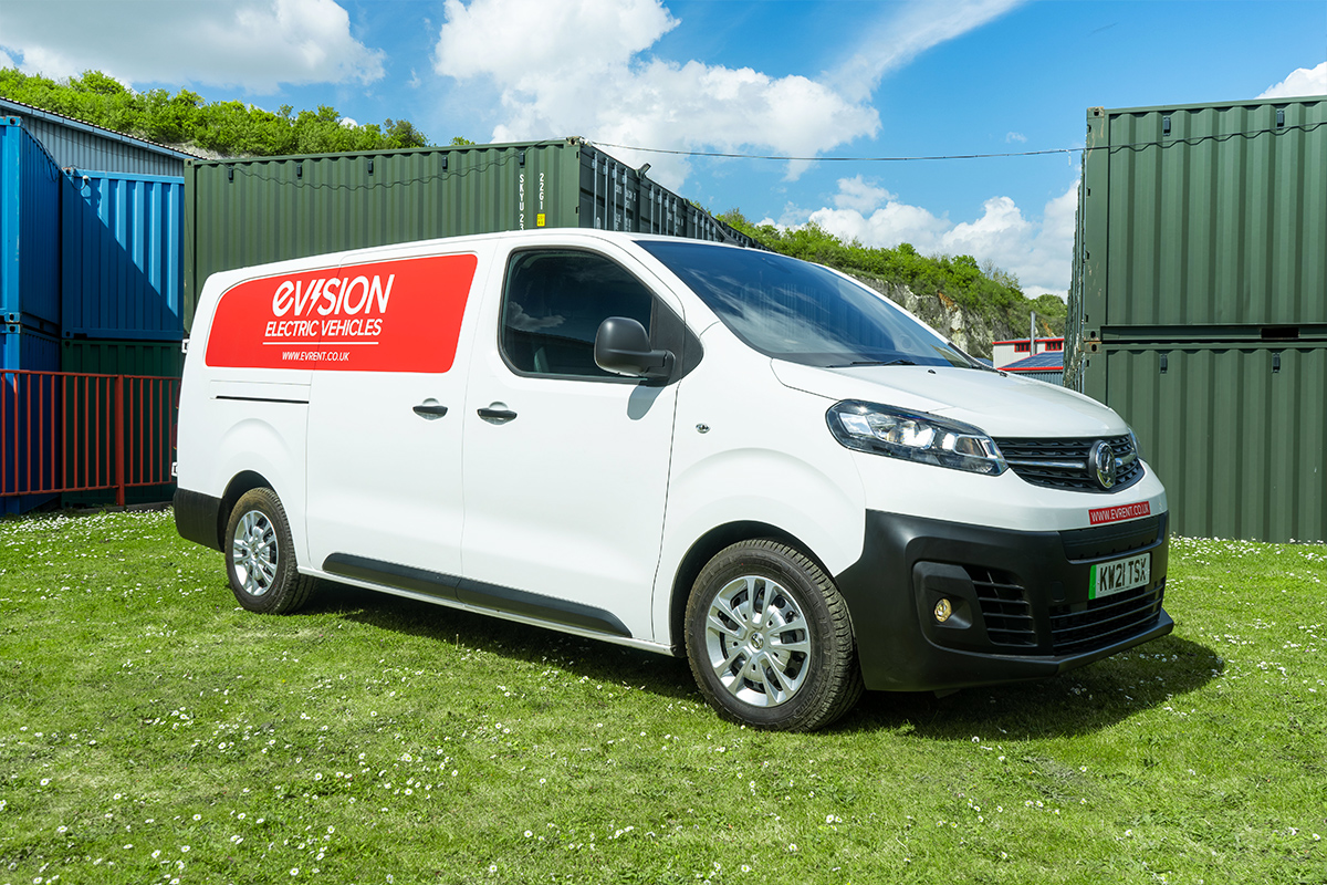 Vauxhall Vivaro E Van to hire