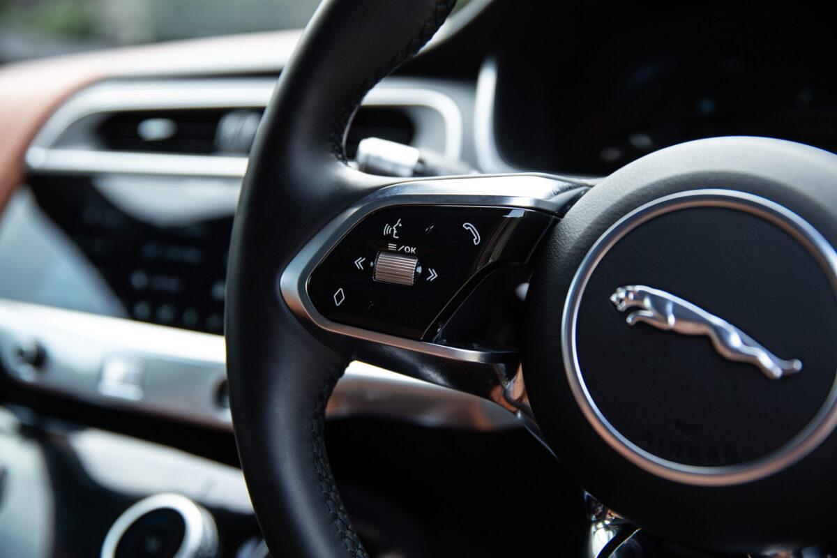 Jaguar I-Pace Steering Wheel