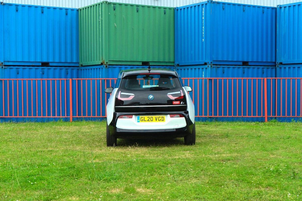 Back of BMW i3 120Ah