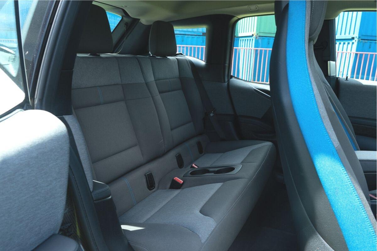 BMW i3 94Ah back seats