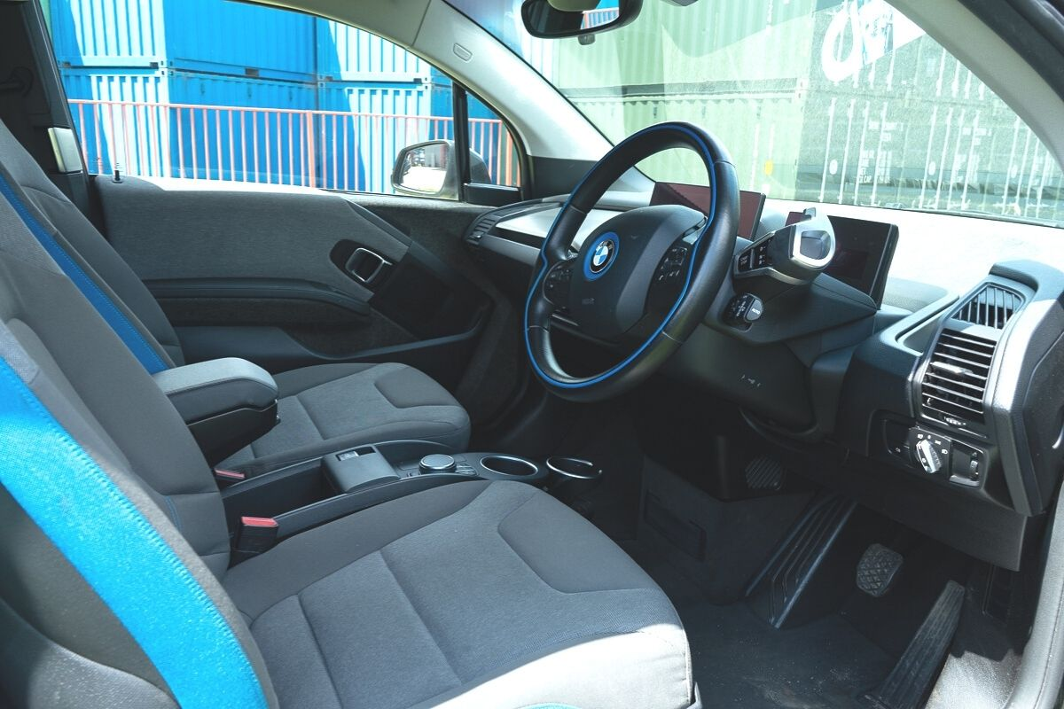 BMW i3 94Ah interior