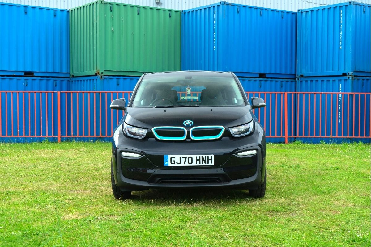 BMW i3s Black front