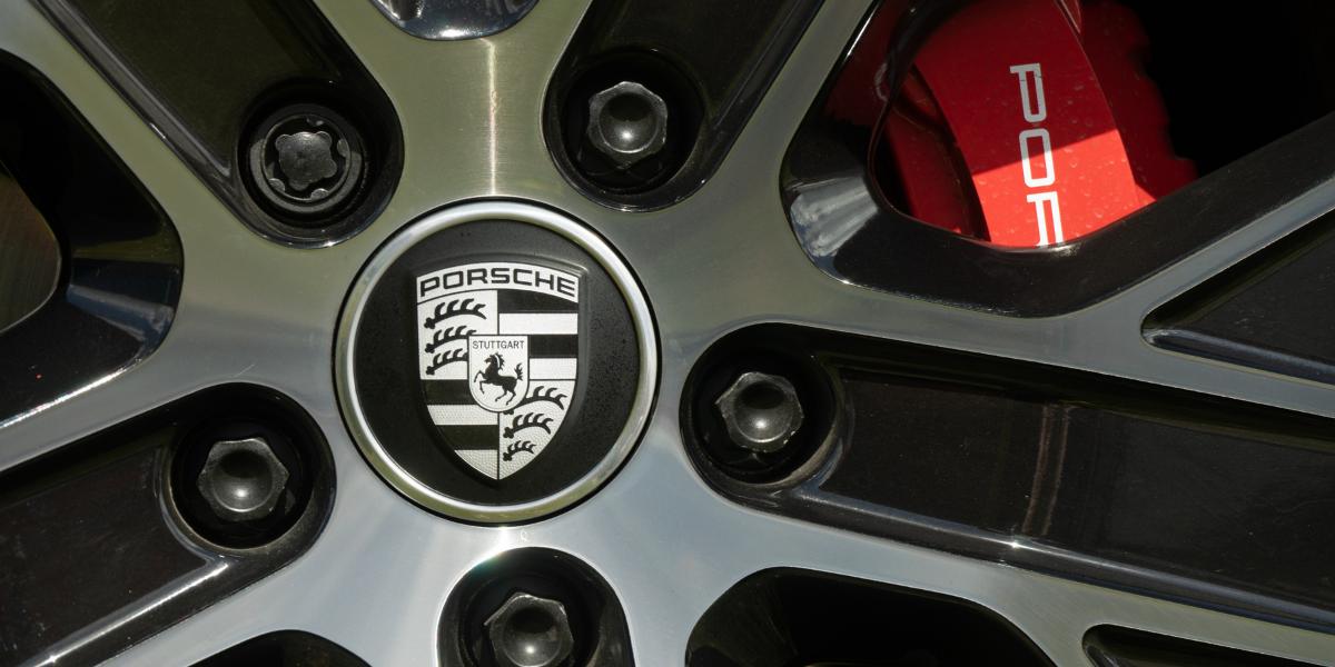 Porsche Taycan at EVision