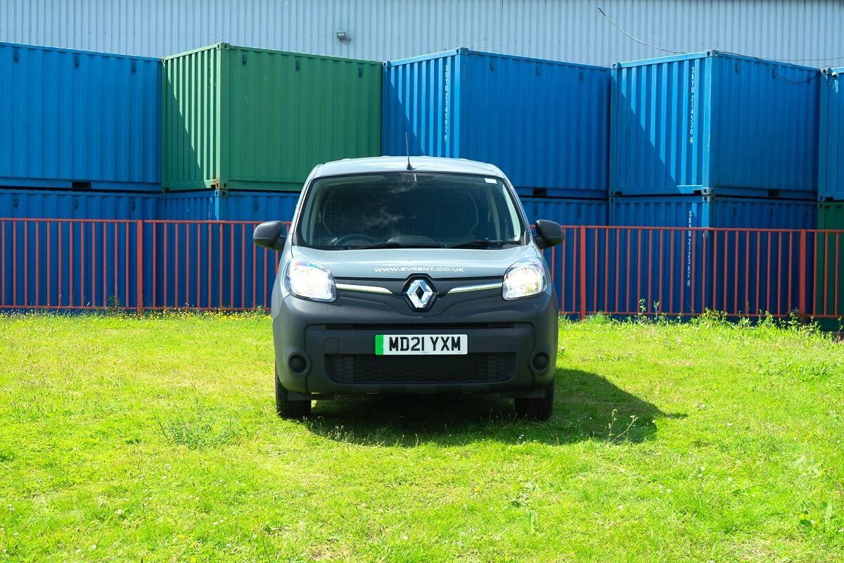Renault Kangoo Double Cab Van front