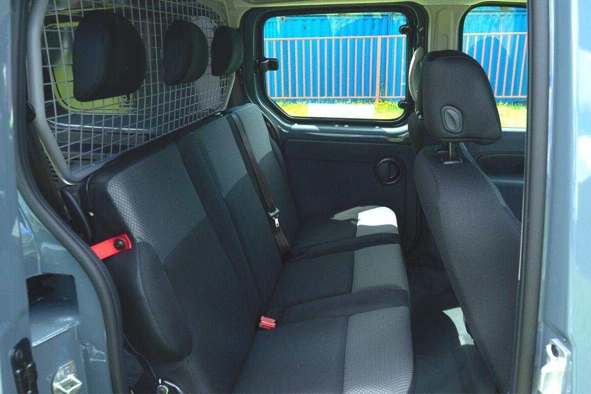 Renault Kangoo Double Cab Van seats