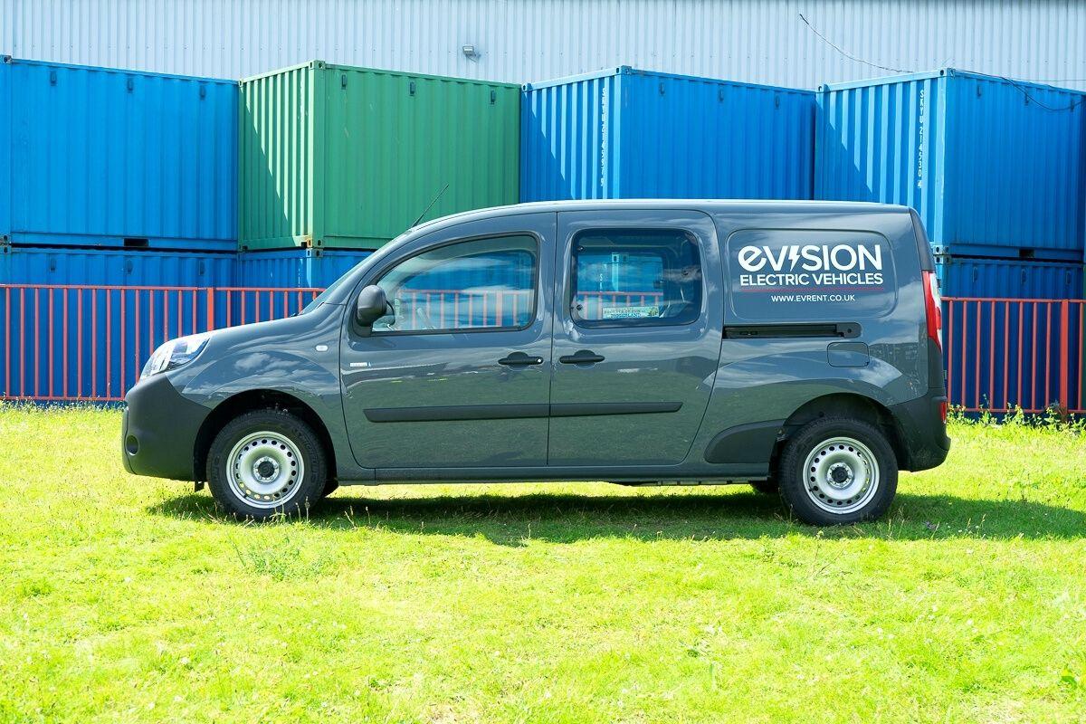 Renault Kangoo Double Cab Van side