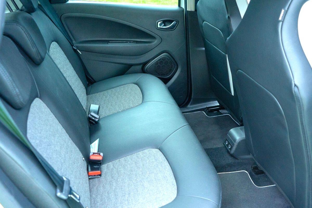 Renault ZOE GT Line R135 seats