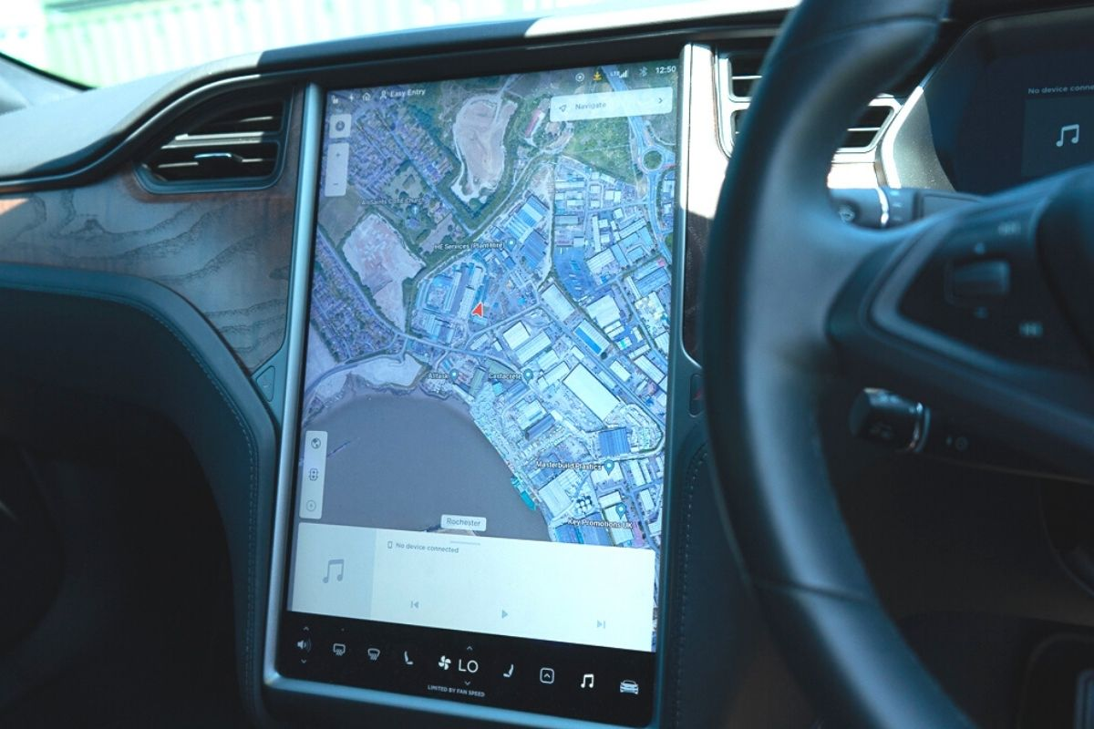 Tesla Model S 100D interior