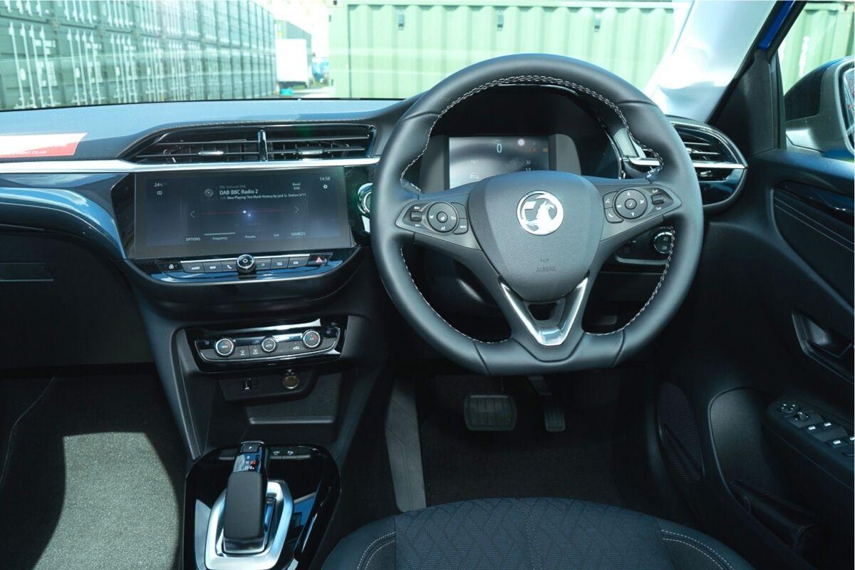 Vauxhall Corsa-e Elite NAV Premium interior