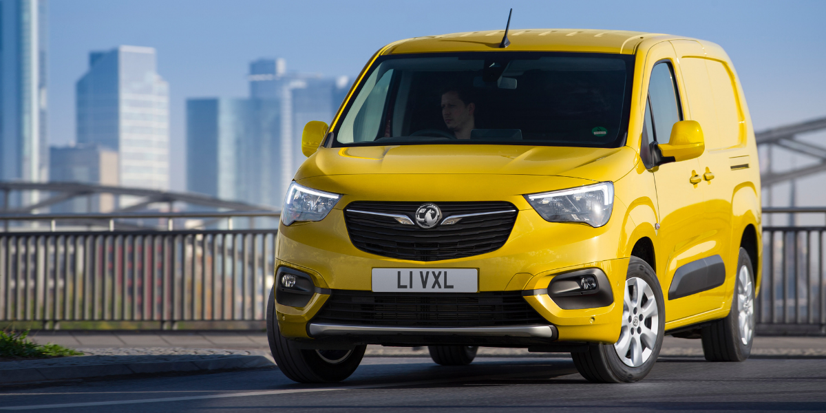 Vauxhall are building electric vans