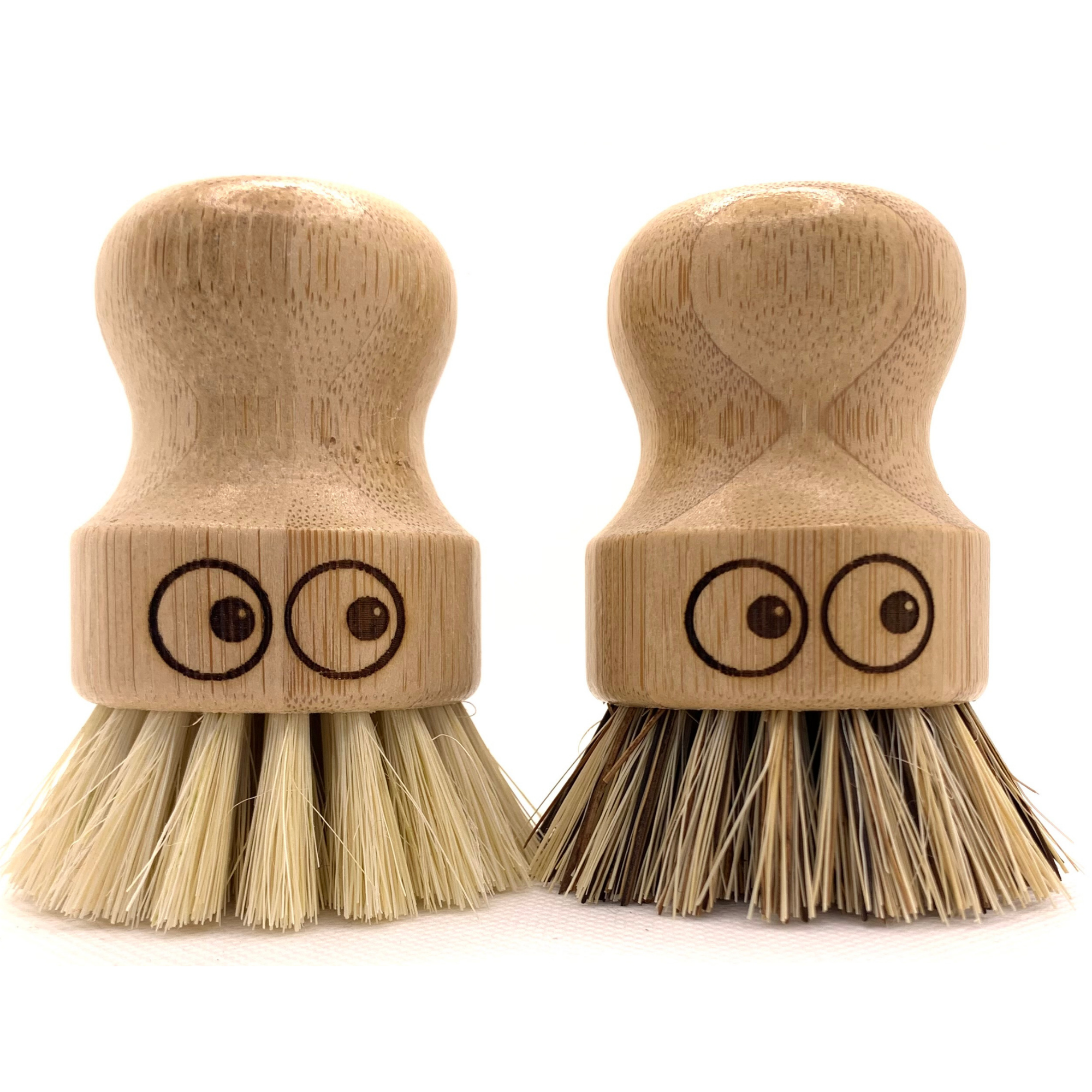 Bamboo Pot Scrubbing Brushes