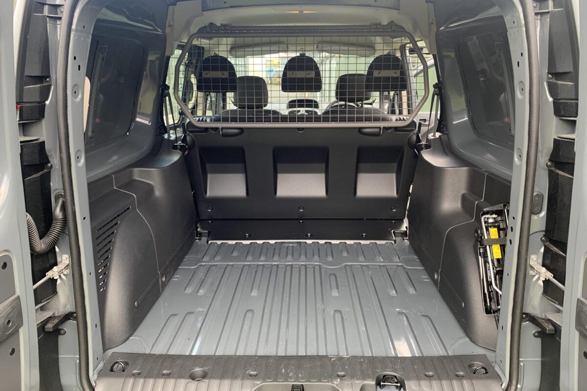 inside of renault kangoo van