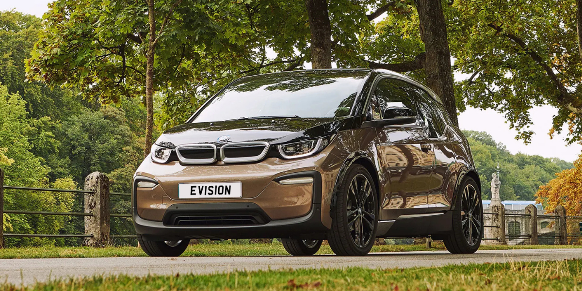 Hire a BMW i3 in London