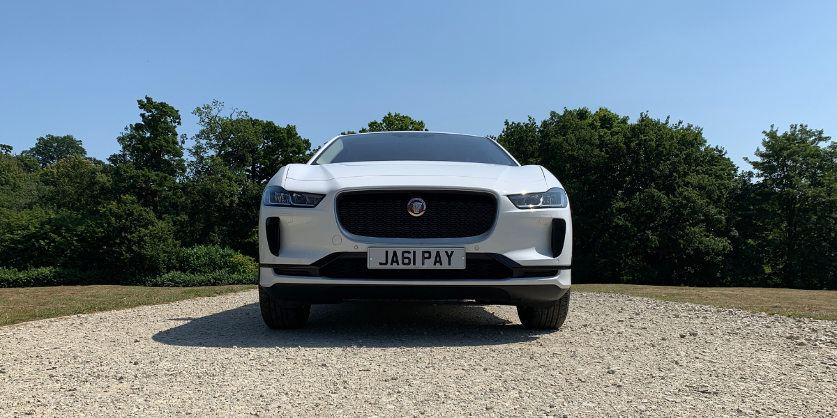 i-Pace at car hire in Kent