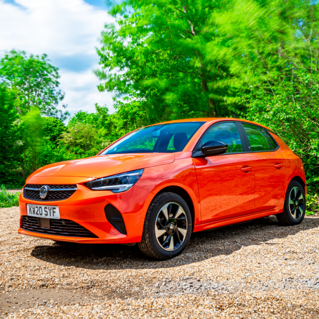 Rent an electric car: Vauxhall Corsa-e
