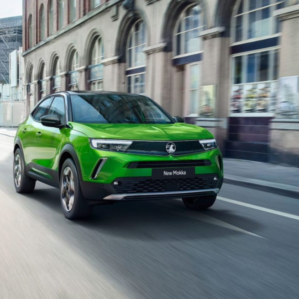 Rent an electric car: Vauxhall Mokka-e