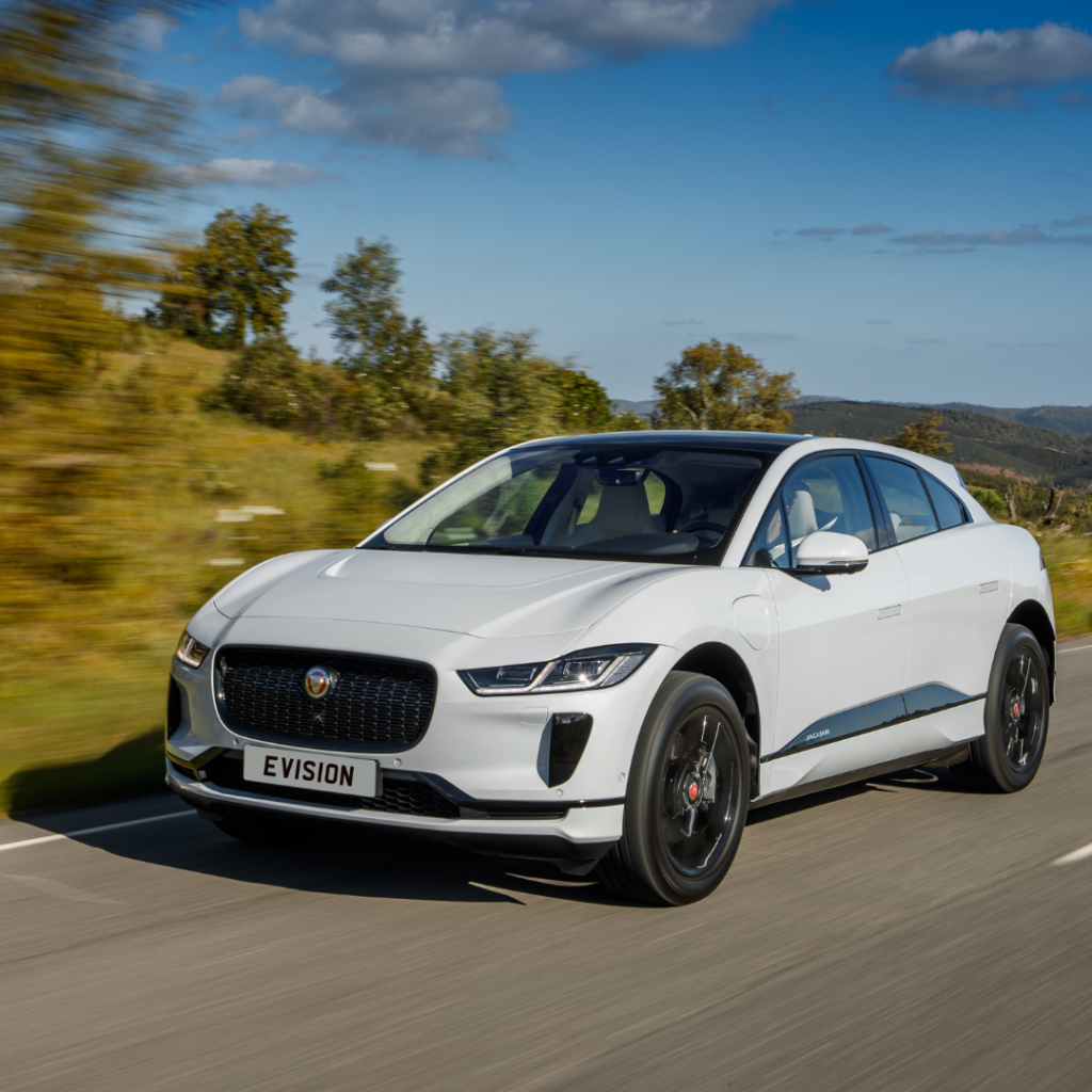 Jaguar I-Pace at EVision