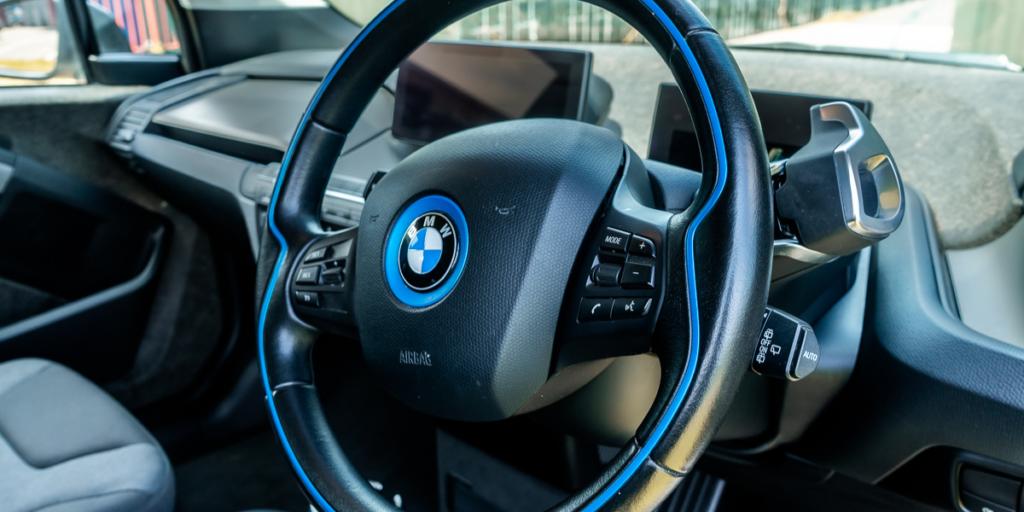 rent an electric car - BMW i3