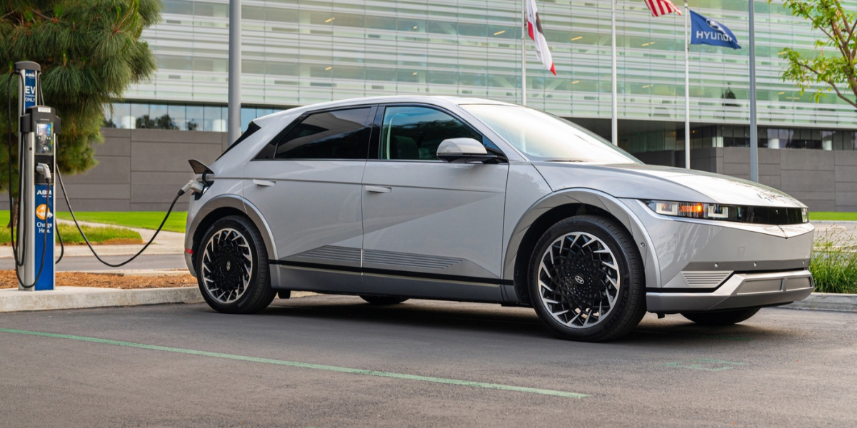 Hire the Hyundai IONIQ 5 at EVision