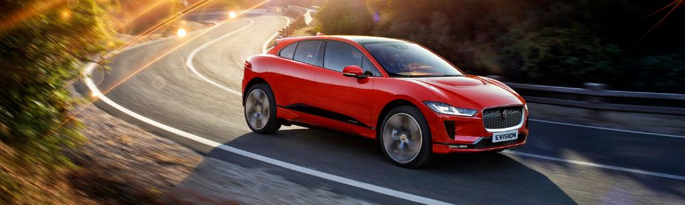 Rent an electric car - Jaguar I-Pace